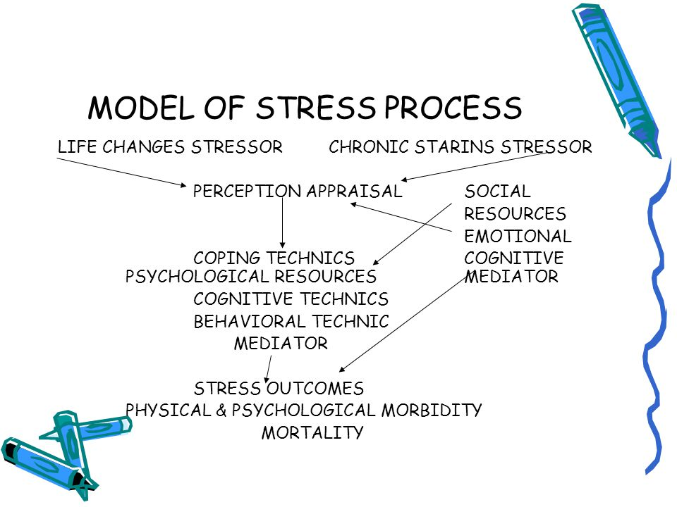 MODEL OF STRESS PROCESS