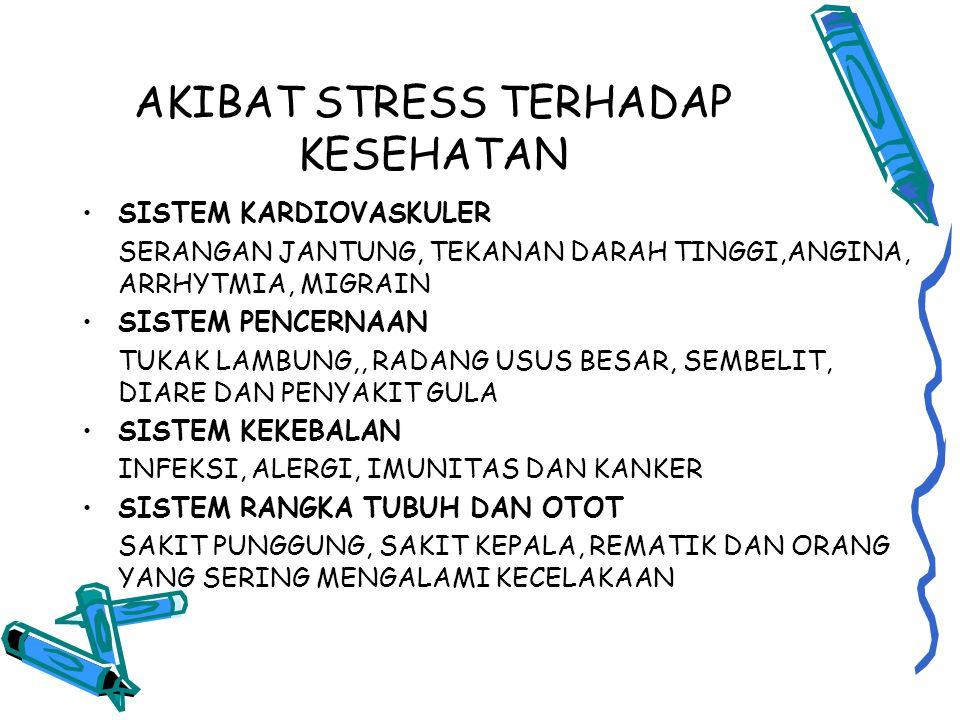 AKIBAT STRESS TERHADAP KESEHATAN
