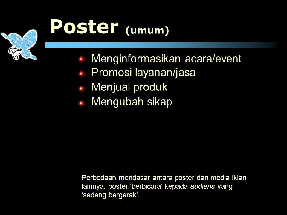 Poster Menginformasikan acara/event