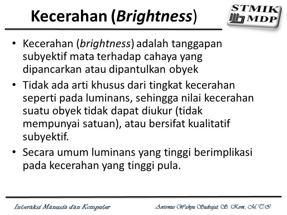 Kecerahan (Brightness)