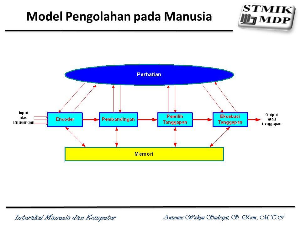 Model Pengolahan pada Manusia