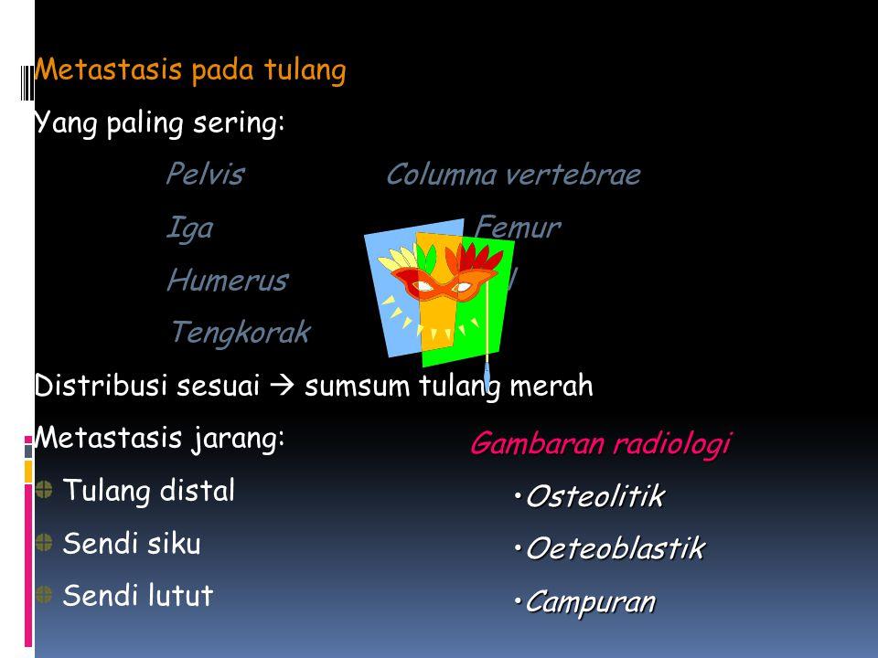 Metastasis pada tulang
