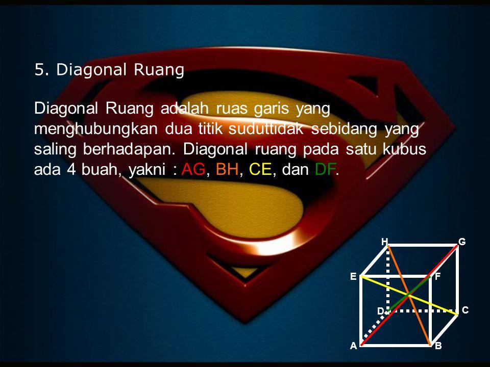 5. Diagonal Ruang