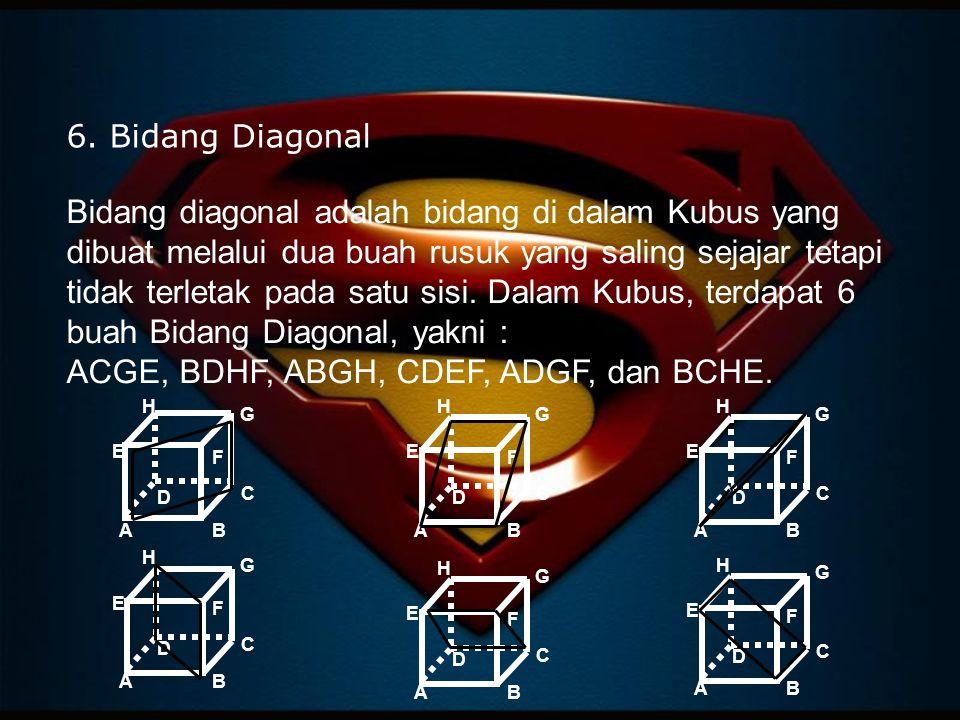 6. Bidang Diagonal