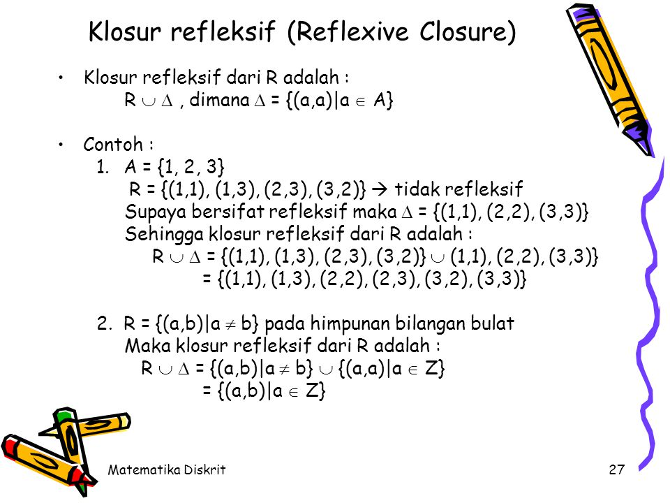 Klosur Simetris (Symmetric Closure)