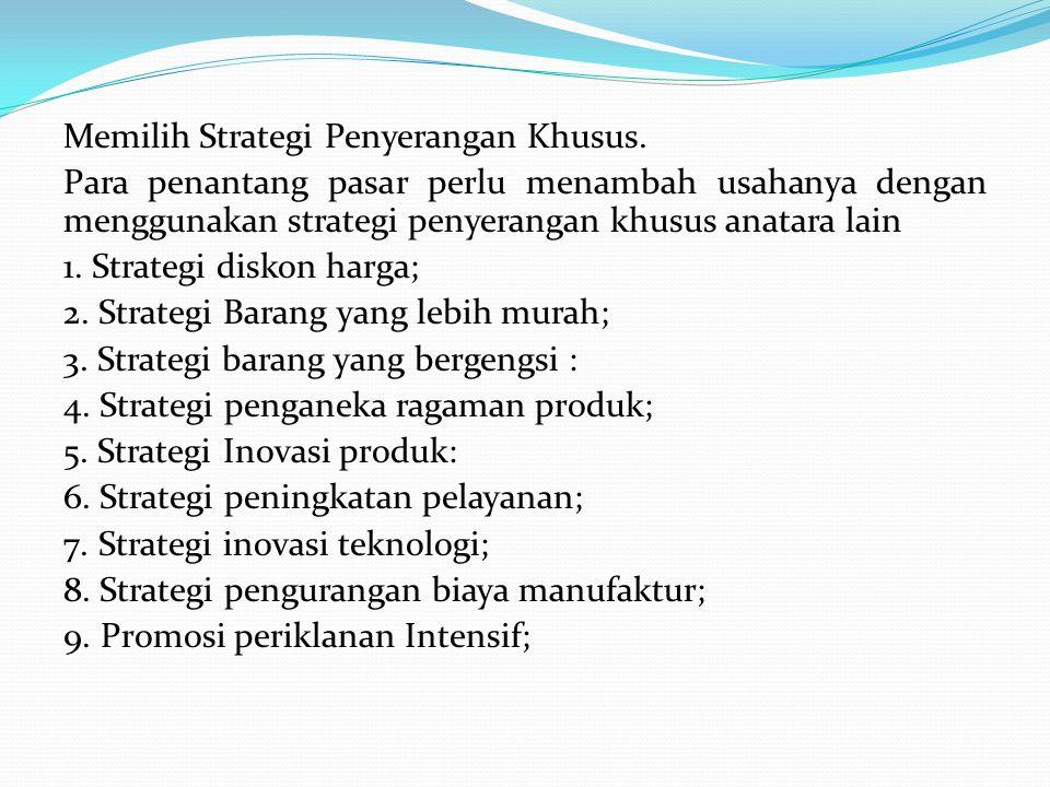 Memilih Strategi Penyerangan Khusus
