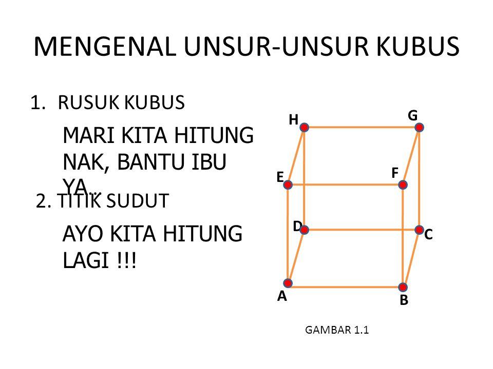 MENGENAL UNSUR-UNSUR KUBUS