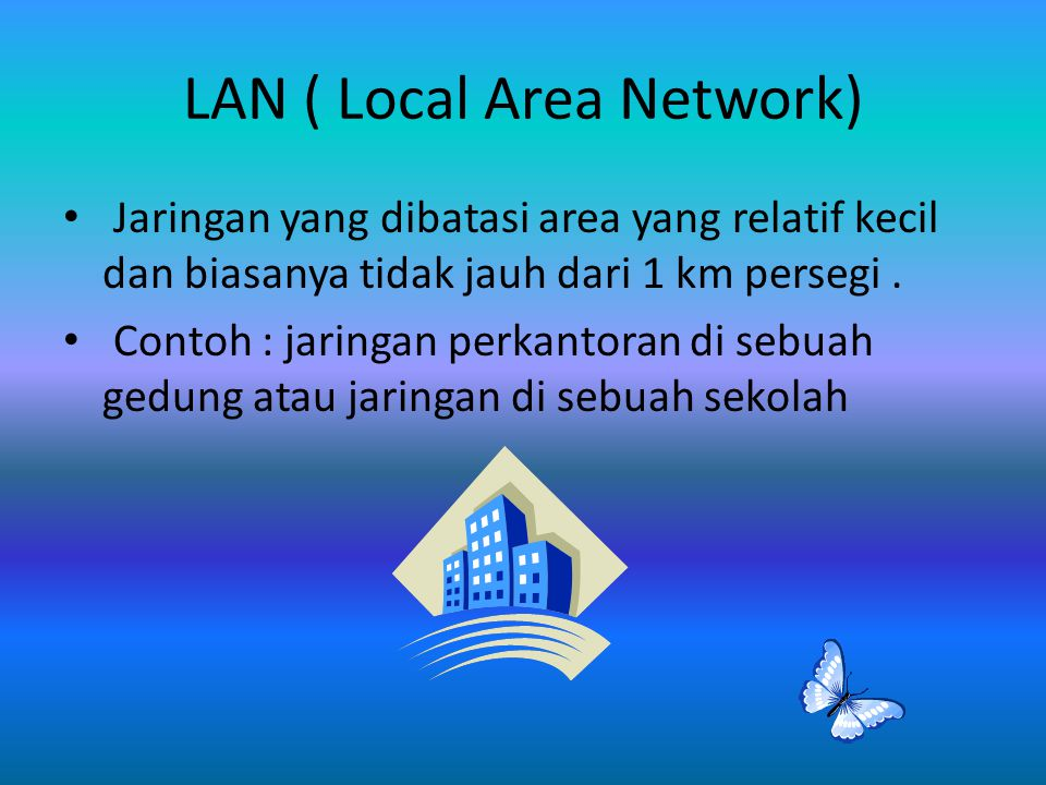 LAN ( Local Area Network)