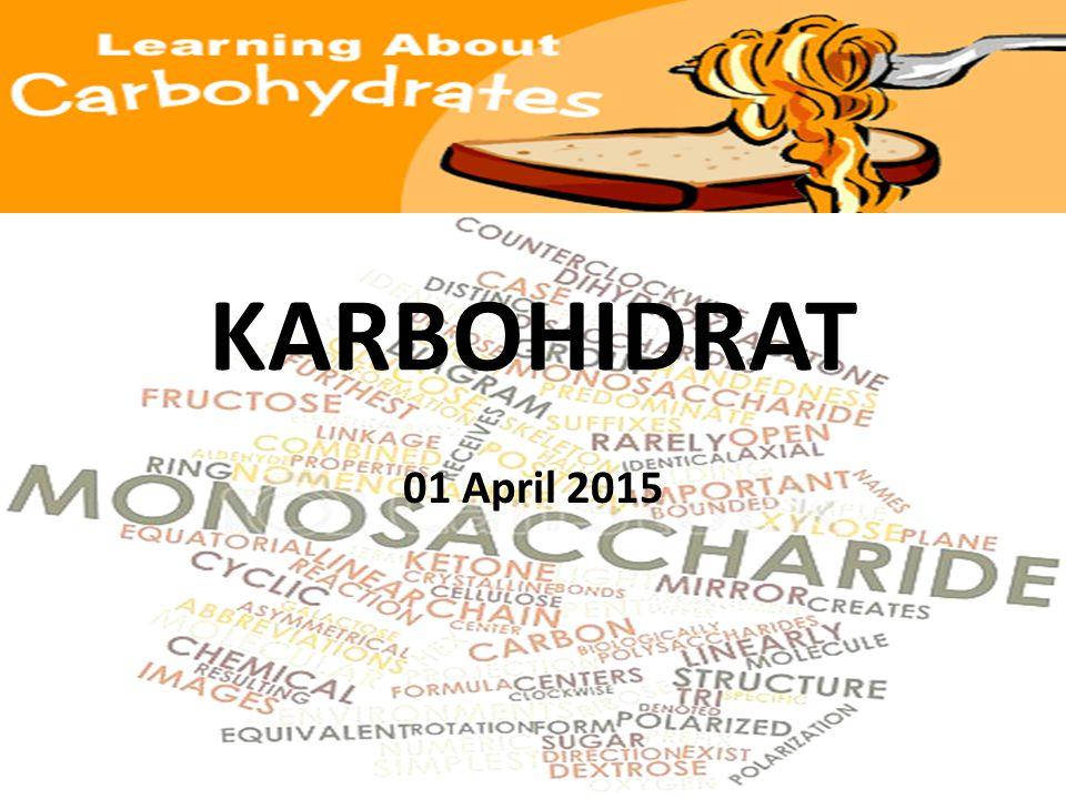 KARBOHIDRAT 01 April 2015
