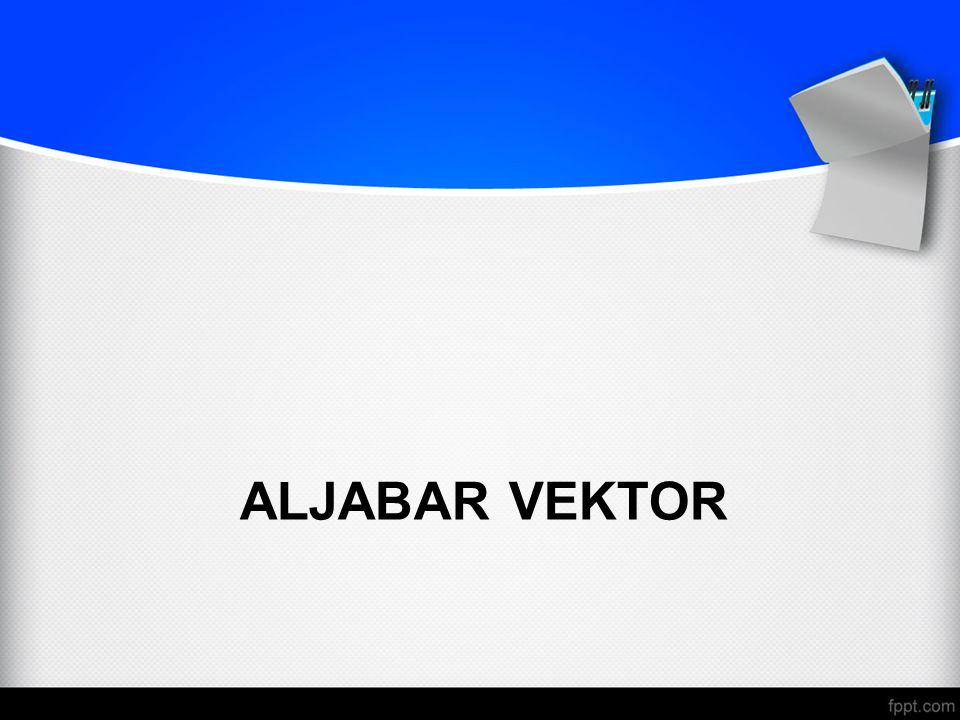 ALJABAR VEKTOR