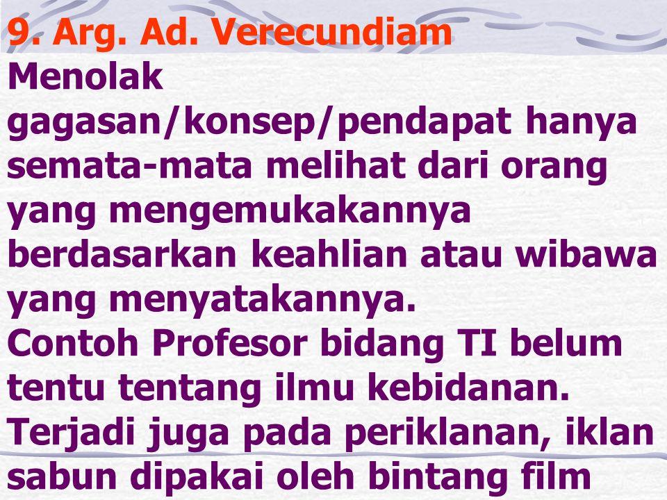 9. Arg. Ad.