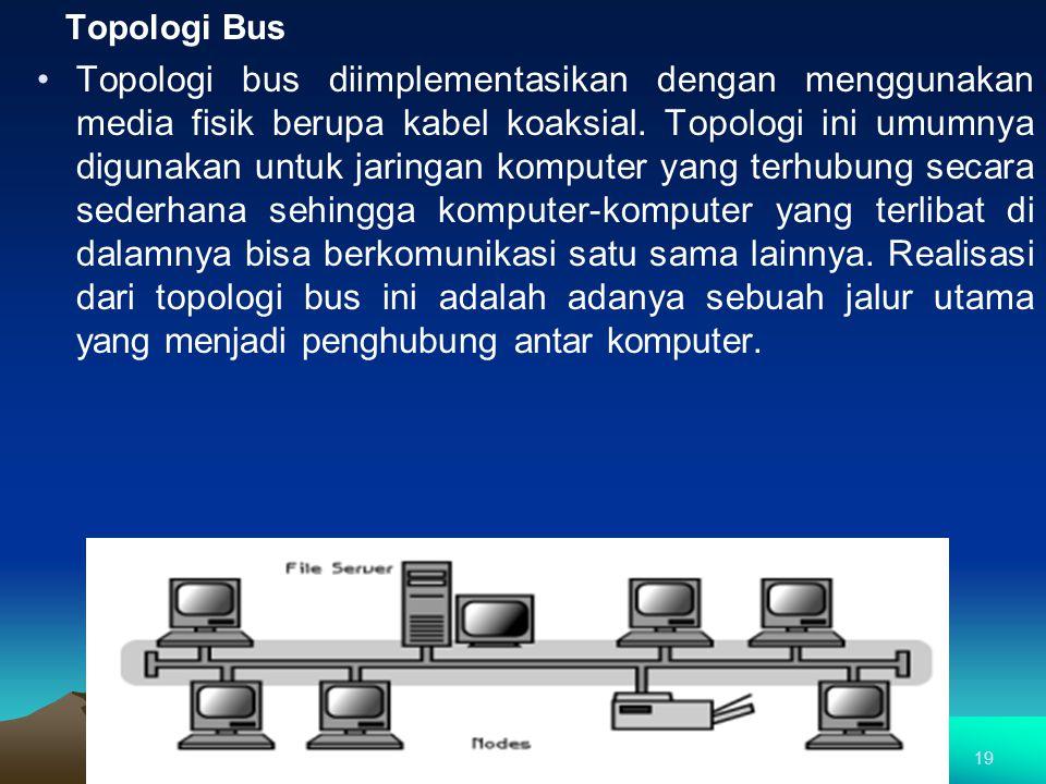 Topologi Bus