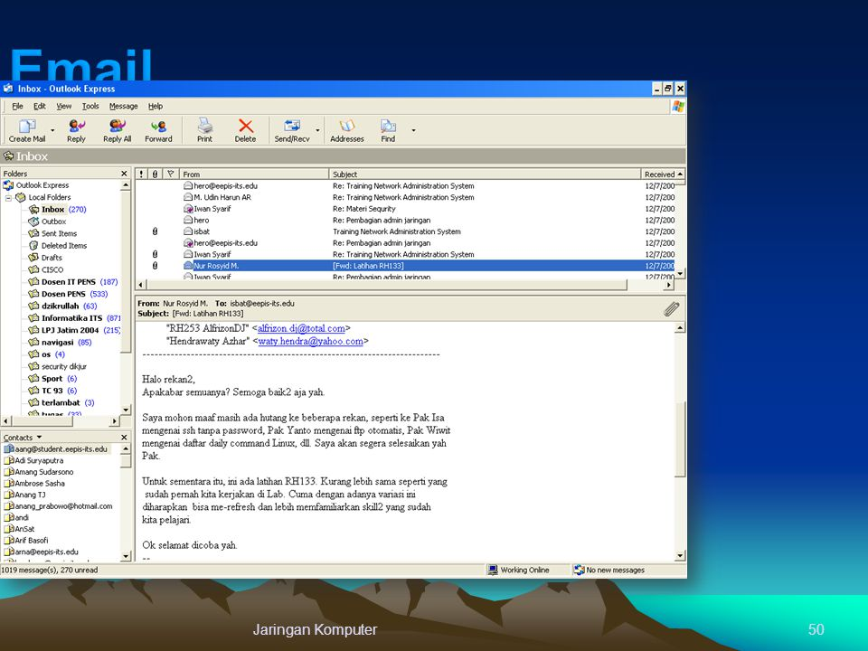 Email Jaringan Komputer