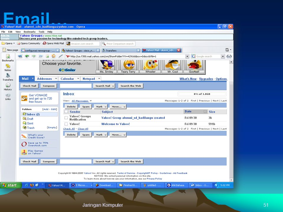 Email… Jaringan Komputer