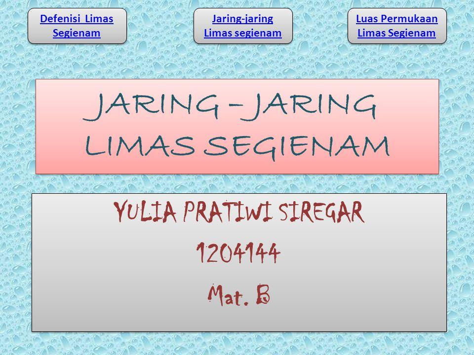JARING – JARING LIMAS SEGIENAM