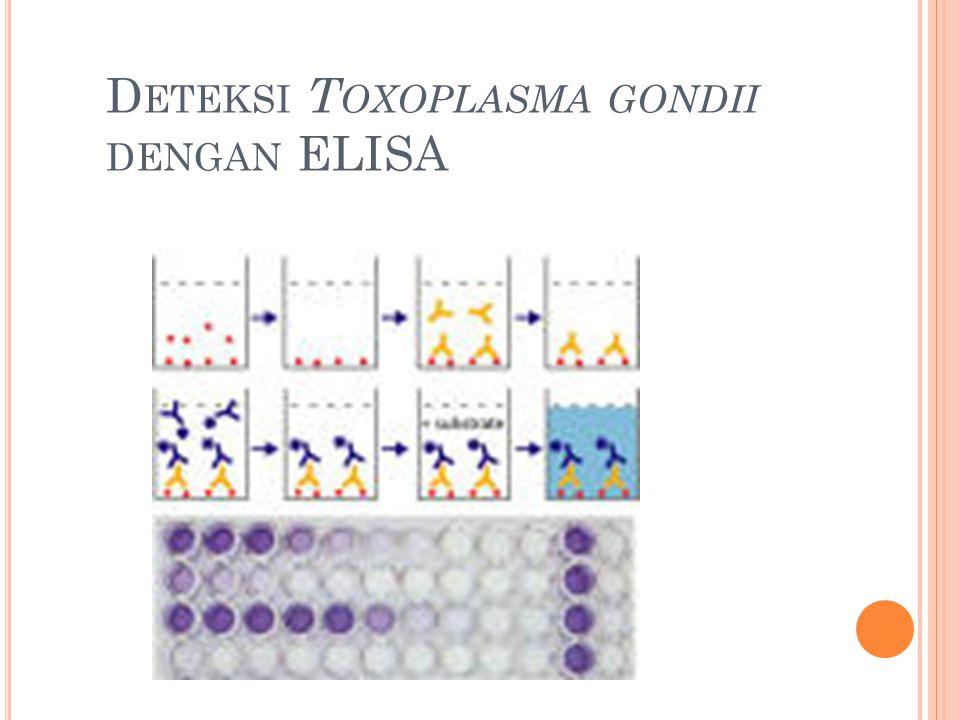 Deteksi Toxoplasma gondii dengan ELISA