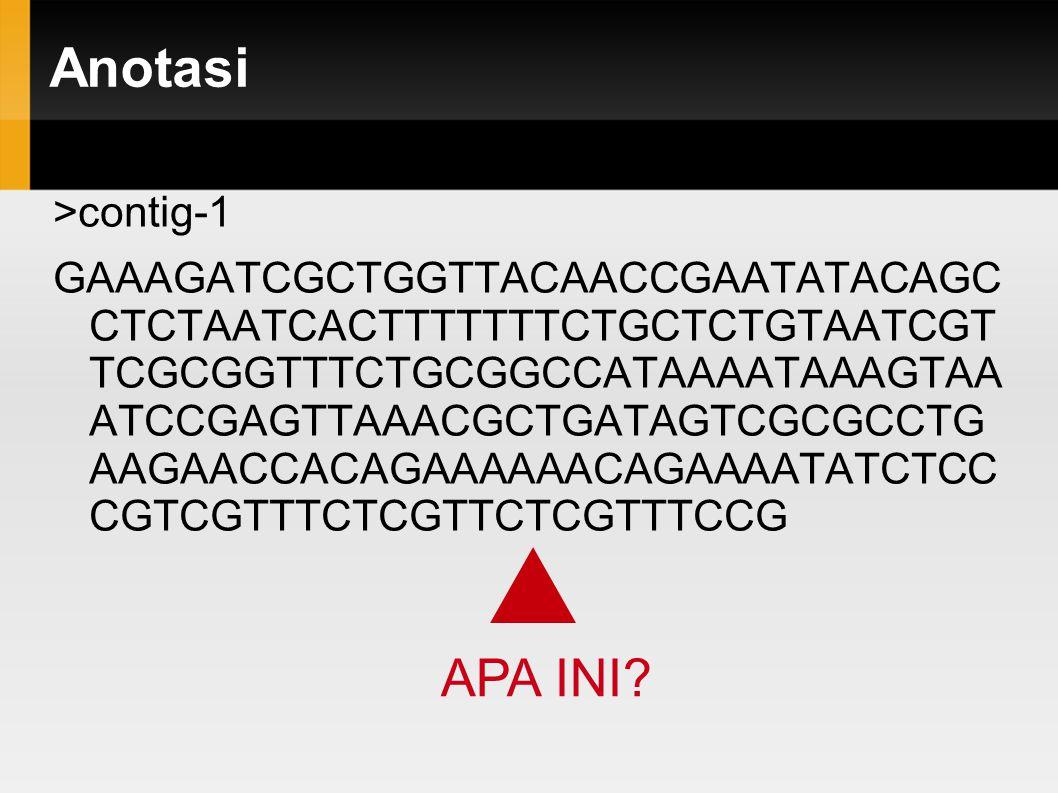 Anotasi APA INI >contig-1