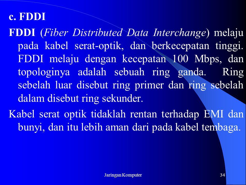 c. FDDI