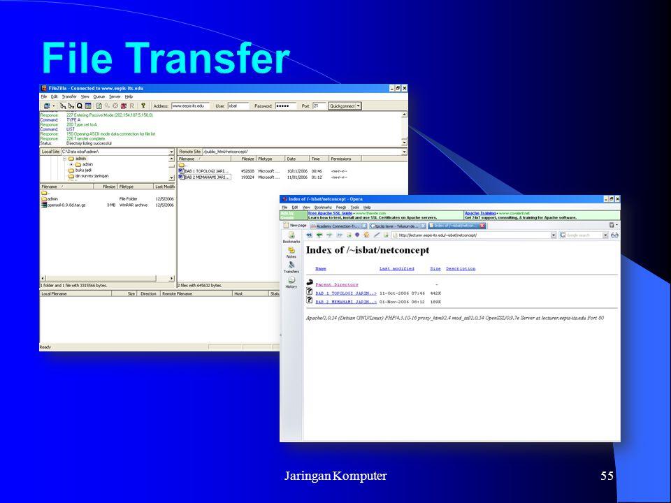 File Transfer Jaringan Komputer