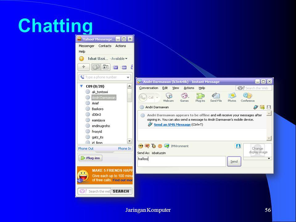Chatting Jaringan Komputer