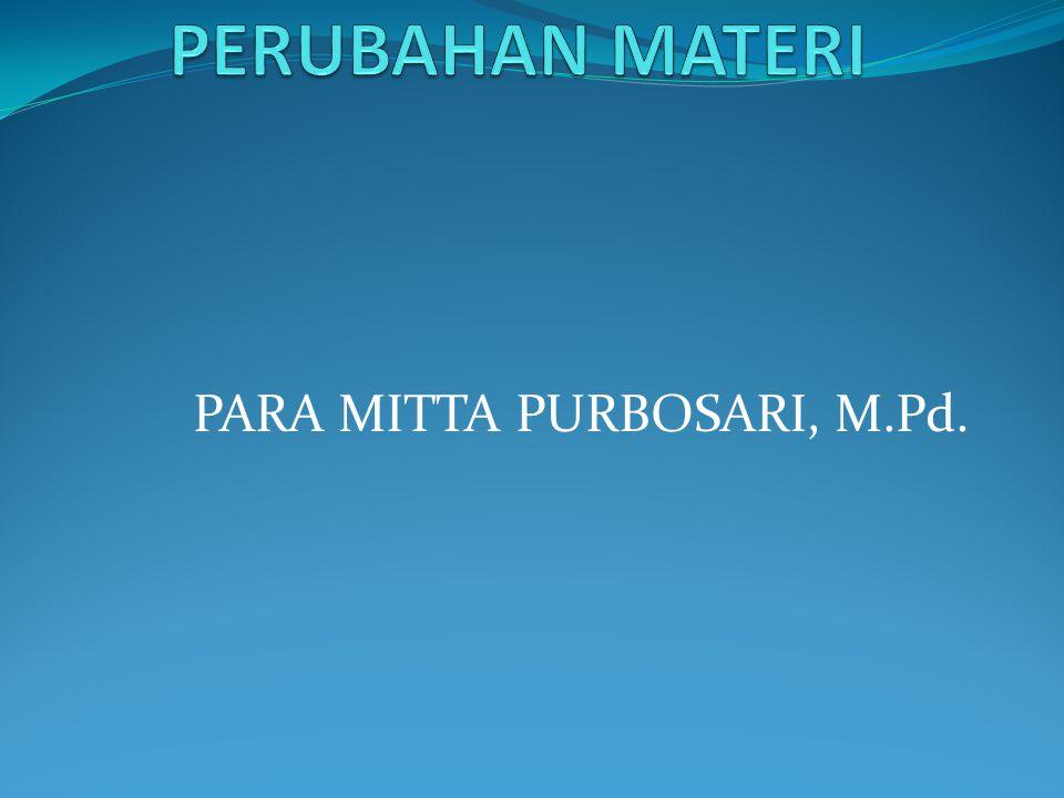 PARA MITTA PURBOSARI, M.Pd.