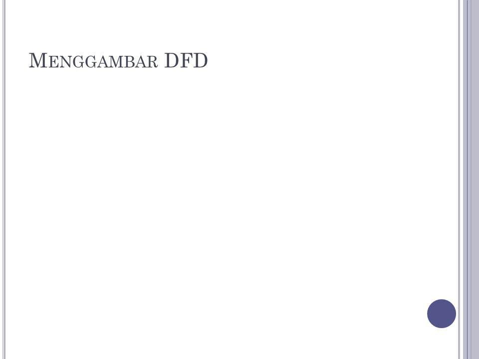 Menggambar DFD
