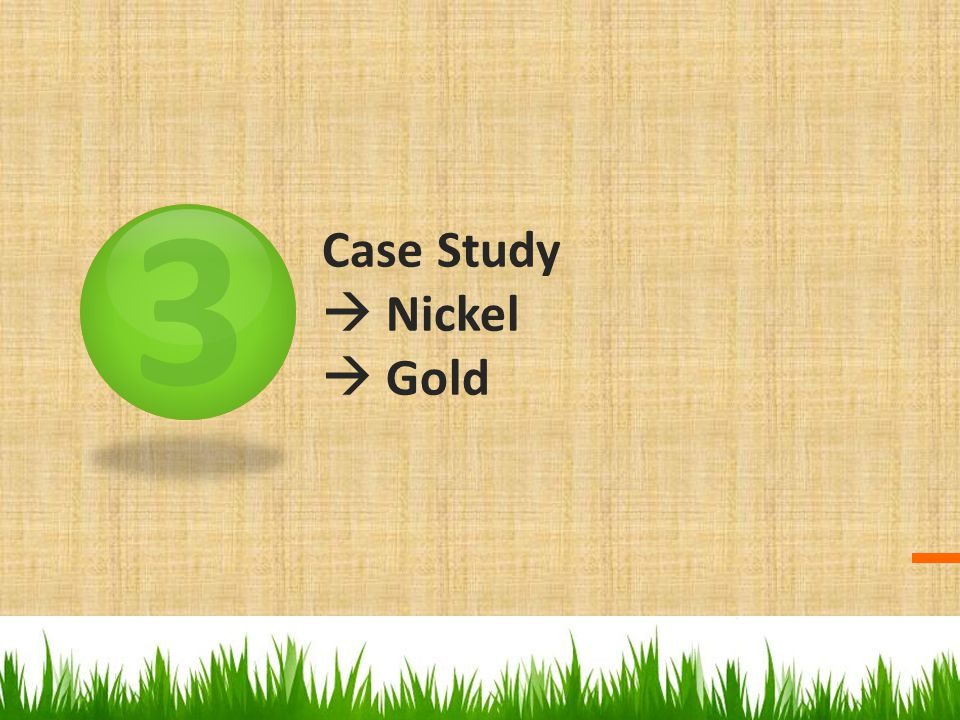Case Study  Nickel  Gold
