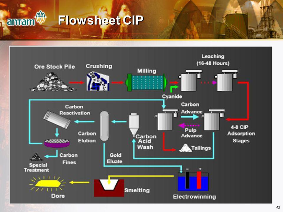 Flowsheet CIP