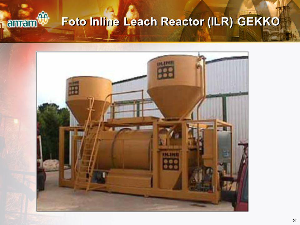 Foto Inline Leach Reactor (ILR) GEKKO