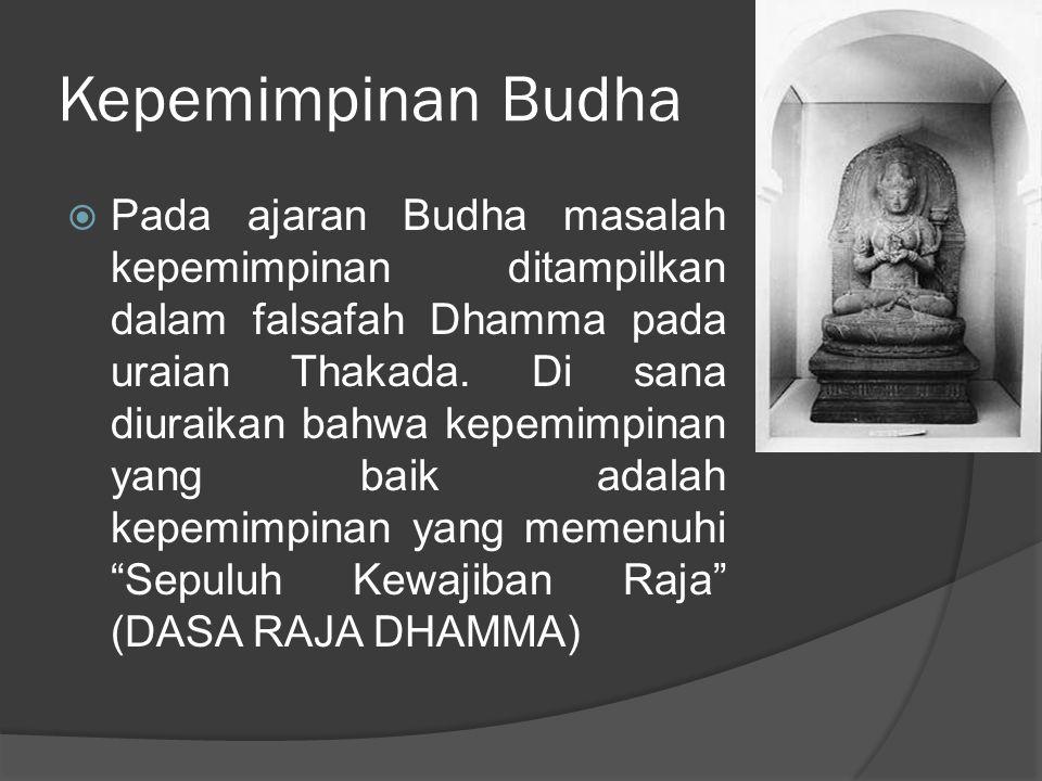 Kepemimpinan Budha