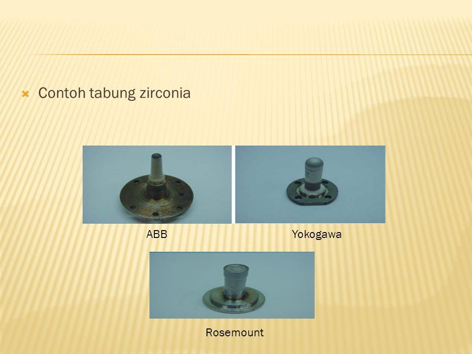 Contoh tabung zirconia