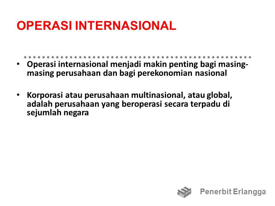 OPERASI INTERNASIONAL