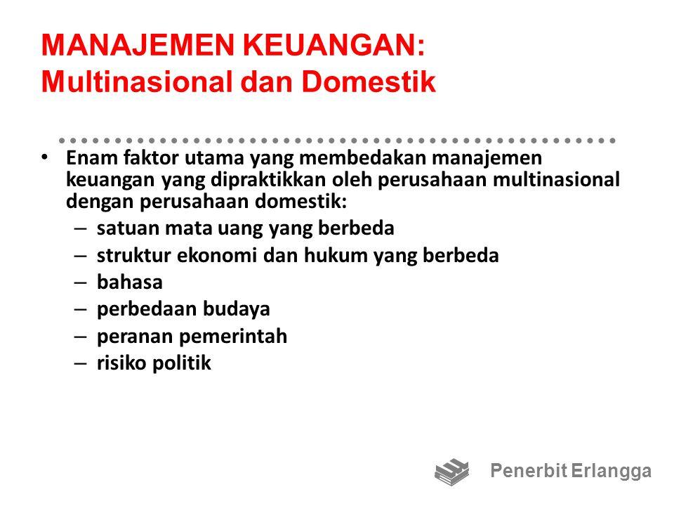 MANAJEMEN KEUANGAN: Multinasional dan Domestik