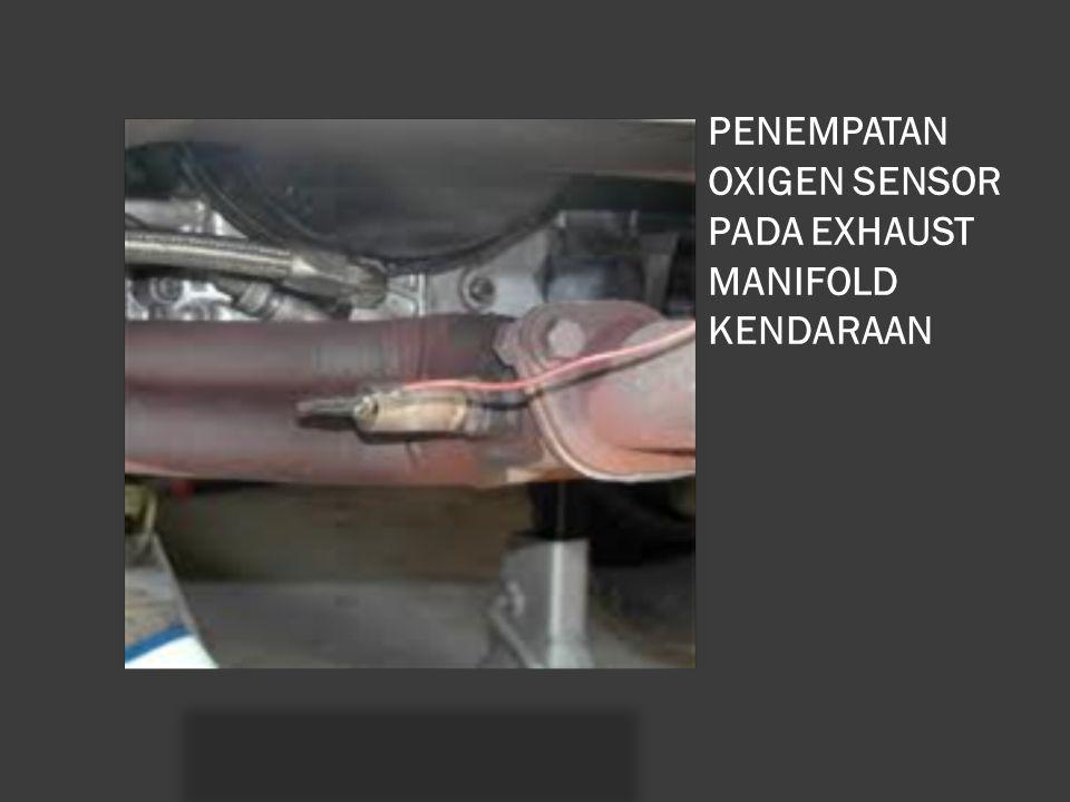 PENEMPATAN OXIGEN SENSOR PADA EXHAUST MANIFOLD KENDARAAN