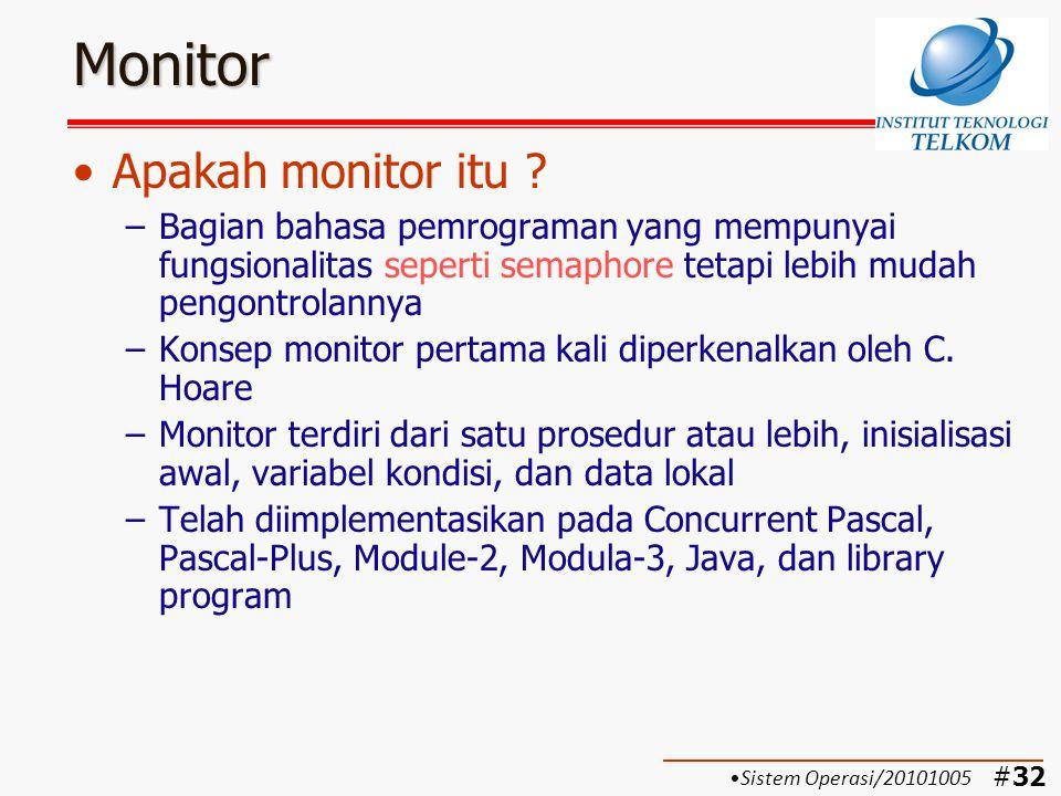 Monitor Apakah monitor itu