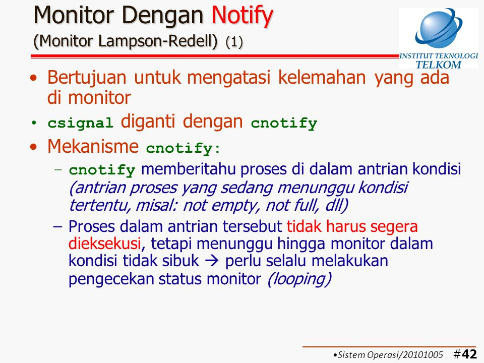 Monitor Dengan Notify (Monitor Lampson-Redell) (1)