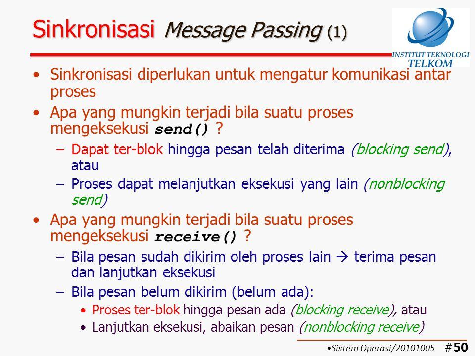 Sinkronisasi Message Passing (1)