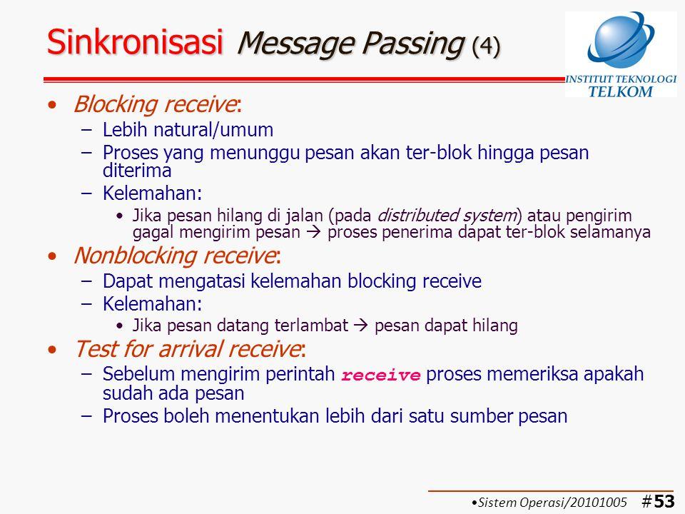 Sinkronisasi Message Passing (4)