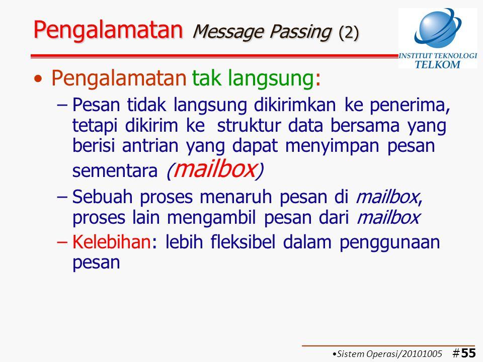 Pengalamatan Message Passing (2)
