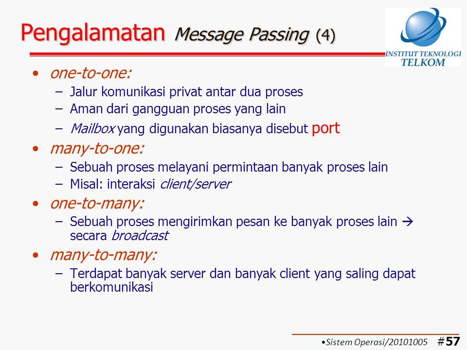 Pengalamatan Message Passing (4)