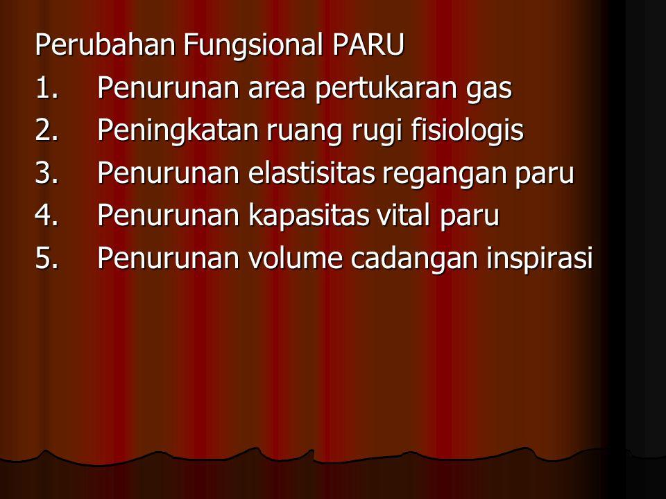 Perubahan Fungsional PARU