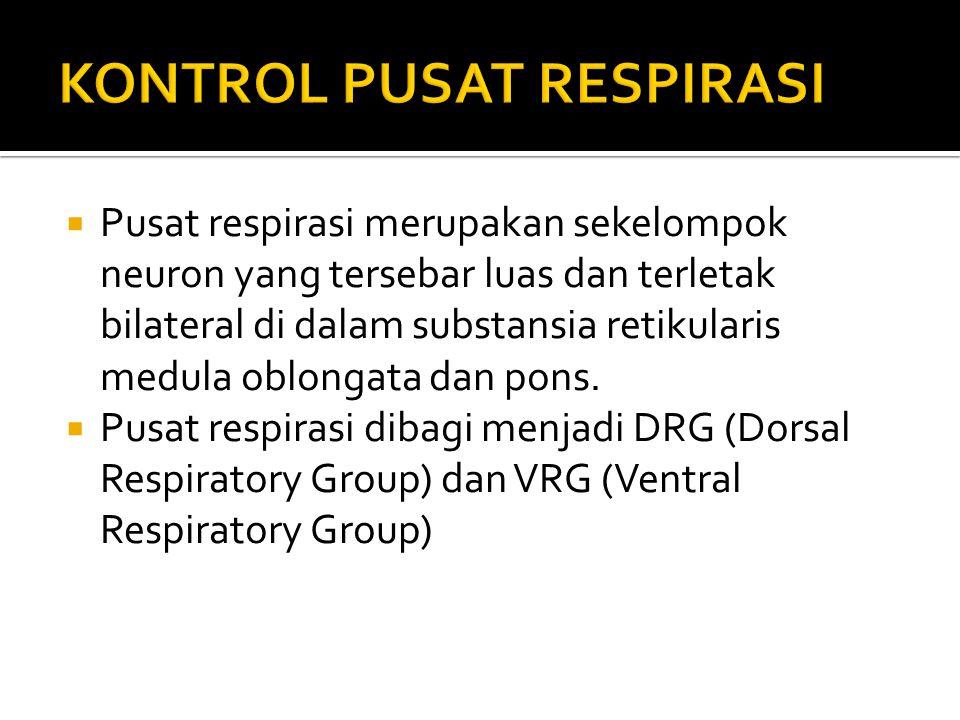 KONTROL PUSAT RESPIRASI