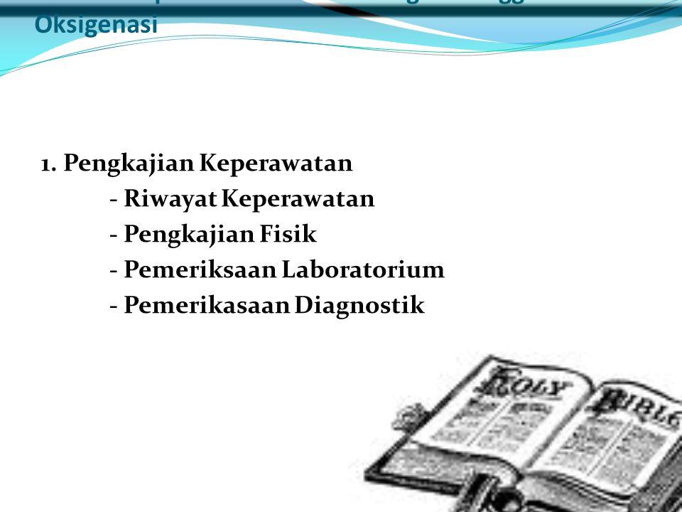 Asuhan Keperawatan Pasien dengan Gangguan Oksigenasi