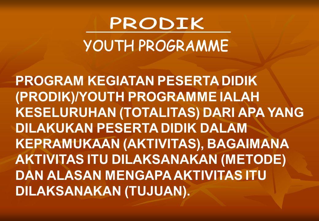 PRODIK YOUTH PROGRAMME