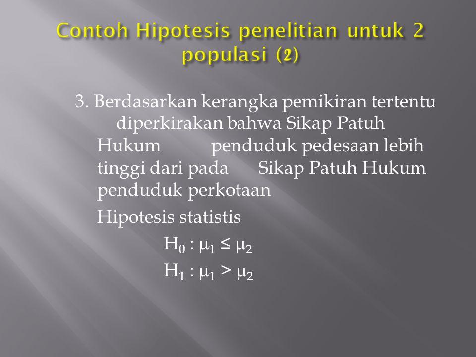 Contoh Hipotesis penelitian untuk 2 populasi (2)