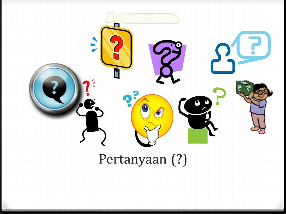 Pertanyaan ( )