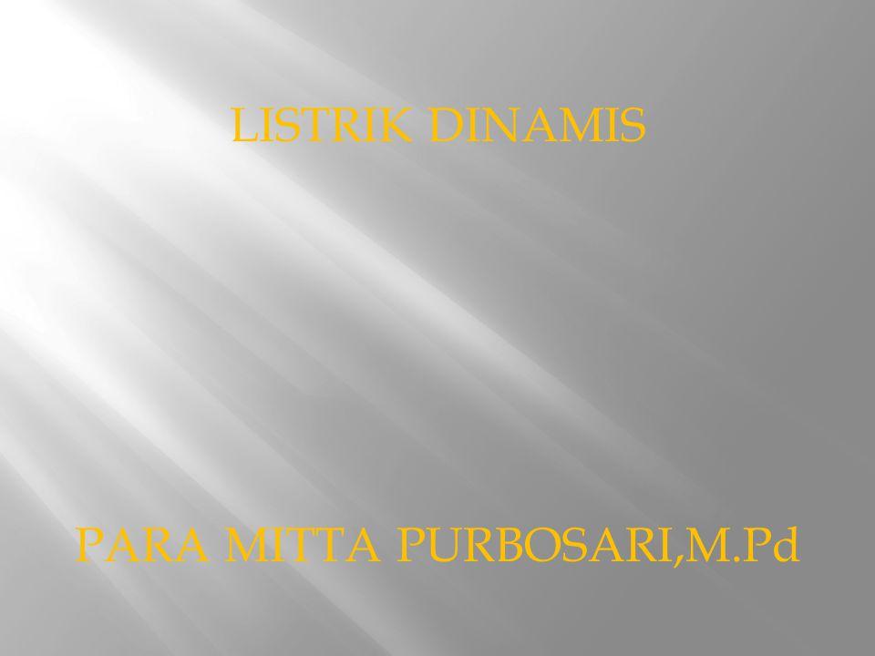 PARA MITTA PURBOSARI,M.Pd