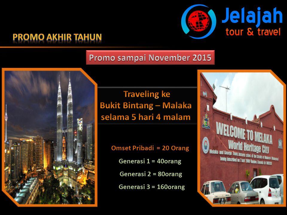 Promo Akhir TAhun Promo sampai November 2015 Traveling ke