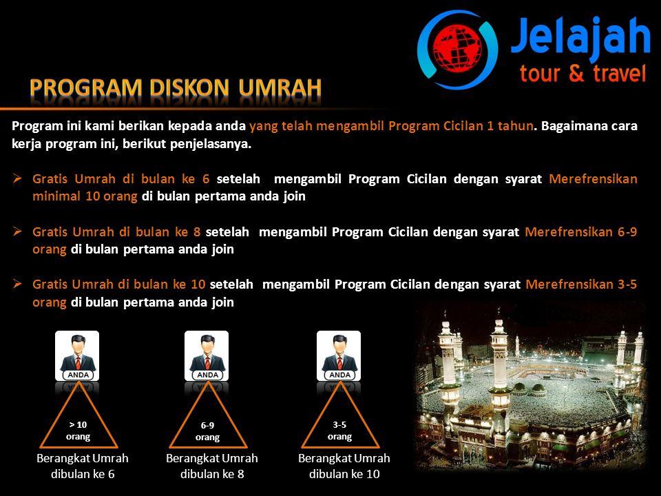 Program Diskon Umrah