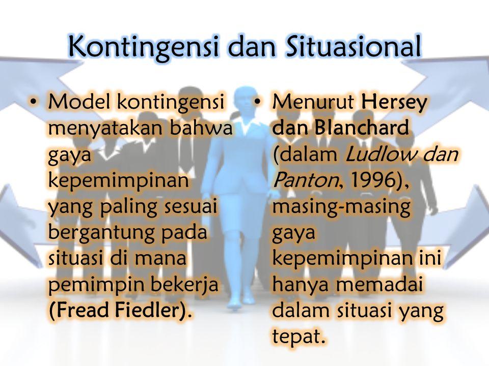 Kontingensi dan Situasional